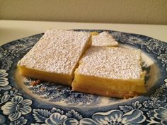 [Homemade] Lemon bars with brown butter shortbread Tartine bakery recipe
