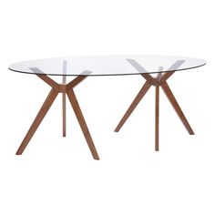 Buena Vista Mid-century Style Dining Table Walnut