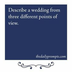 Groom the officiant and the the other guy in love with the bride