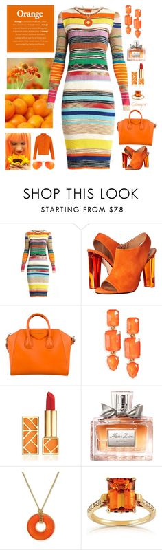 """""""Brighten Winter"""" by gemique ❤ liked on Polyvore featuring Missoni, Calvin Klein Collection, Givenchy, Loren Hope, Tory Burch, Christian Dior, Charter Club and Annello"""