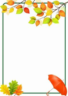 34 Free borders and frames - Aluno On Page Borders Design, Border Design, Borders For Paper, Borders And Frames, Fall Crafts, Diy And Crafts, School Frame, Paper Frames, Floral Border