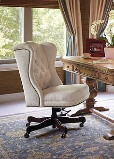 Sit Comfortably As You Accomplish All Your Important Tasks Atop The Plush  Andover Executive Office Chair