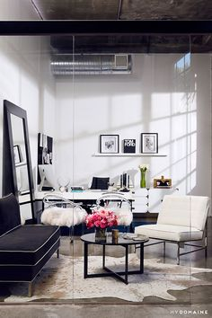 Tour These Celebrity Work Spaces You'll Want to Copy Immediately via @MyDomaine