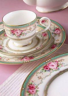 LOVE this china!!