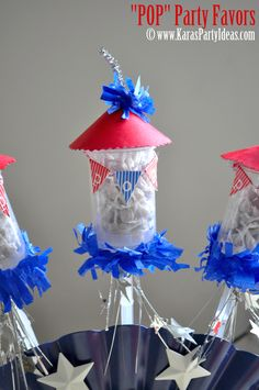 """POP"" 4th of July Firecracker Party Favors"