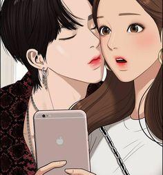 Cute Couple Cartoon, Cute Couple Art, Anime Love Couple, Romantic Anime Couples, Cute Couples, Desenhos Love, Cute Couple Wallpaper, Cute Anime Coupes, Aesthetic Japan