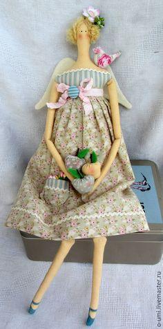 Куклы Тильды ручной работы. Ярмарка Мастеров - ручная работа. Купить Ангел Яблоневый цвет (интерьерная кукла в стиле Тильда). Handmade.