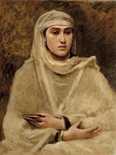 Algerian Woman - Camille Corot