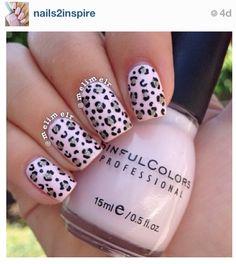 Leopard nails ❤