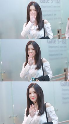 170421 - Red Velvet Irene @ ICN Airport OTW to Malaysia (cr.Beautiful Curse) | Twitter