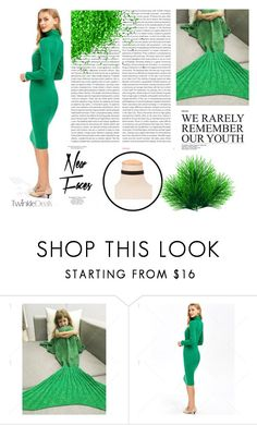 """""""Remember green"""" by difen ❤ liked on Polyvore featuring Oris and Topshop"""