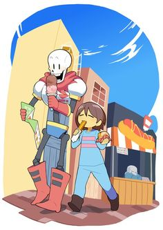 Papyrus and Frisk | Undertale