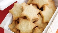 Recipes - English Vanilla Biscuits: Biscuits and tea. They go together like milk and honey. Shortbread Recipes, Cookie Recipes, Snack Recipes, Vanilla Biscuits, Cinnamon Biscuits, Shortbread Biscuits, Cinnamon Cookies, Thermomix Desserts, Star Cookies