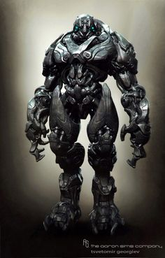 ARCHETYPE robots by Tsvetomir Georgiev