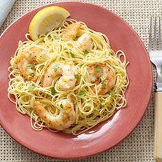 Garlic Shrimp Scampi with Angel Hair Pasta Recipe on Yummly