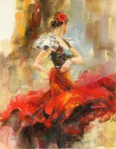 anna razumovskaya  - Romantic Paintings by Anna Razumovskaya