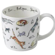 Madeleine Floyd 'To Do...Purr' fine bone china york mug