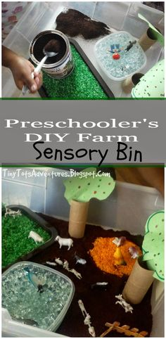 Tiny Tots Adventures: #PlayfulPreschool DIY Farm