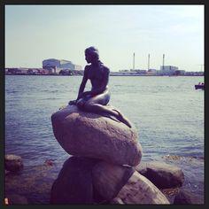 Den lille havfrue, Copenhagen