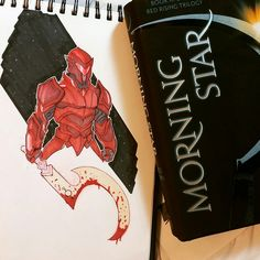 Red rising darrow armor. Finished morning star by Pierce Brown and had to start on concepts. #helldiver #darrow #morningstar #goldenson #piercebrown #redrising #Sons of Ares.