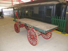 Old Train Luggage Carts | Recent Photos The Commons Getty Collection Galleries World Map App ...