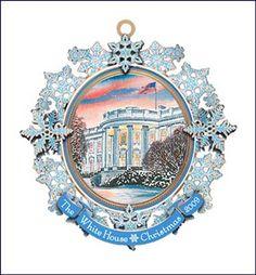 White House Ornament 2009