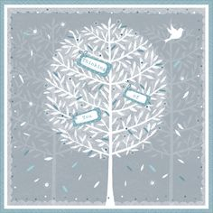 """CODE: WS335 NAME: TREE OF THOUGHTS PRICE: £1.75 Buy now: https://www.phoenix-trading.co.uk/web/km43704/area/shop-online/category/sympathy/product/WS335/tree-of-thoughts/ Presentation: Embossed images with a white 100 gsm envelope. Blank for your own message Paper Type: Matt Textured Artist: Sue James Size: 5 x 5"""" : 127 x 127mm"""