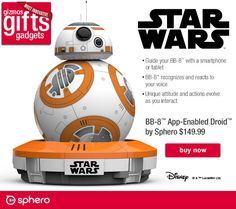 BB-8 and Yoda are ready for tomorrow… are you?‏ I Brookstone