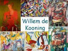Leuke en informatieve powerpoint over Willem de Kooning voor 5, deze en nog vele andere kun je downloaden op de website van Juf Milou.