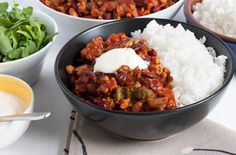 A simple Smokey veggie chilli recipe for you to cook a great meal for family or friends. Buy the ingredients for our Smokey veggie chilli recipe from Tesco today.