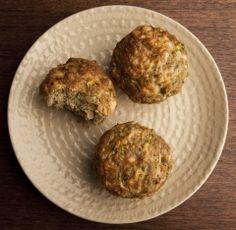 Zucchini, Cheddar & Quinoa Muffin