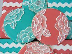 Sweet Melissa's Cookies: Brush Embroidery & Chevron