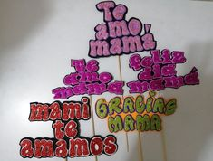 Handicraft, Cake Toppers, Diy And Crafts, Cricut, Paper, Stickers, Creative, Mayo, Mothers Day Crafts