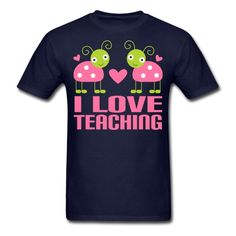 I love teaching - Men's T-Shirt