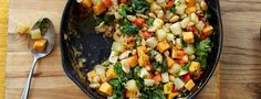Making hash is a great way to use whatever vegetables you have left over from the night before. But in the case of this delicious recipe, it seems unfair to consider it just a dish of leftovers. From Forks Over...  Read more