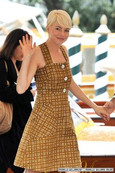 Michelle Williams Style Gamine Ethereal Love This Dress Making