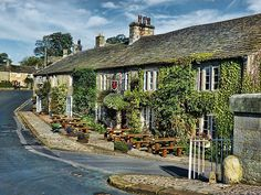 Red Lion, Burnsall, Yorkshire - I stayed here one weekend many years ago