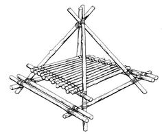 www.pioneeringmadeeasy.co.uk - Camping table and benches version 2 plans