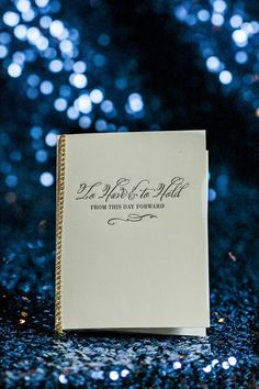 Wedding Programs | Calligraphy by Laura Hooper | Photography: Jamie Lee Photography