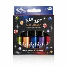 Nail Art Pens By NPW Jewel by Natural Products Worldwide. $11.50. has nail brush and also sharp point to draw fine lines. Import from the United Kingsom. Set of 5 Jewel colors. Pack contains: 5 mini nail art pens with brush for painting and nib for drawing.      Paint your nails in your choice of colour.     Use the micro nib to draw the design of your choice (be artistic!).     When dry, seal with a clear varnish over the top of your designs (Ta-da, job done!).  Packs ...
