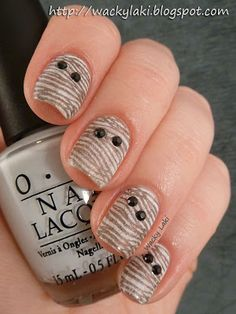 Super Cute Mummy Nails