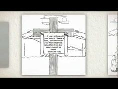 The Roman Road:  Pathway to Life is a Gospel Tract coloring card that has become popular at Halloween.  This video shows how it works.  It combines a tract that presents the plan of salvation with a craft card that children can color or decorate.    More information is available by clicking this link:  http://store.memorycross.com/Roman_road_Tract.aspx