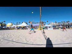 Best Block of the Huntington Beach Open: AVP GoPro Clips | AVP Beach Volleyball