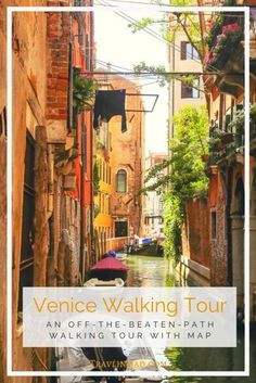 Venice Walking Tour: Explore Off The Beaten Path Neighborhoods at Your Own Pace! Italy Travel Tips, Slow Travel, Greece Travel, Venice Travel, Small Group Tours, Italy Vacation, Italy Trip, European Travel, European Plan