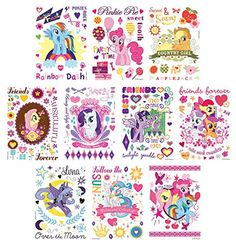 30 Sheet My Little Pony Friendship Magic Temporary Tattoo... http://www.amazon.com/dp/B00L4YX7J2/ref=cm_sw_r_pi_dp_WFshxb0NNGJC2