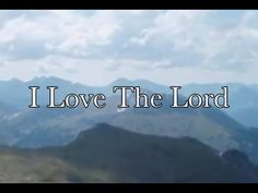 """I Love The Lord - Whitney Houston (feat.The Georgia Mass Choir) """"...When it's nowhere to go, I can go to Him."""""""