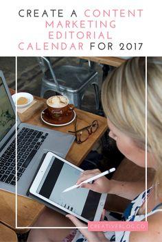 FREE RESOURCE: Content Marketing Editorial Calendar 2017