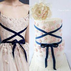 Fashion inspiration - Cake by Nadia