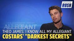 INTERVIEW: Theo James Tells Popsugar He Knows His Allegiant Co-Stars' Darkest Secrets