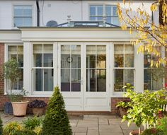 Kitchen Extension Orangery with large roof lantern